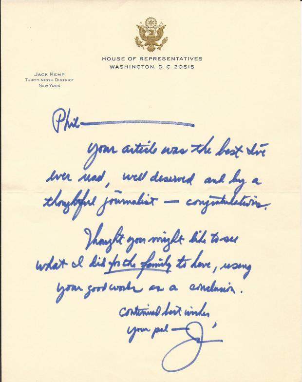 jack-kemp-letter-to-phil-regarding-column-about-jack-horrigan-s
