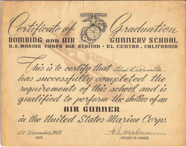 PHIL RANALLO AIR GUNNER CERTIFICATE.jpg