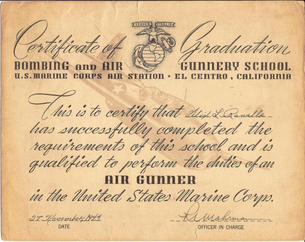 PHIL RANALLO AIR GUNNER CERTIFICATE.jpg