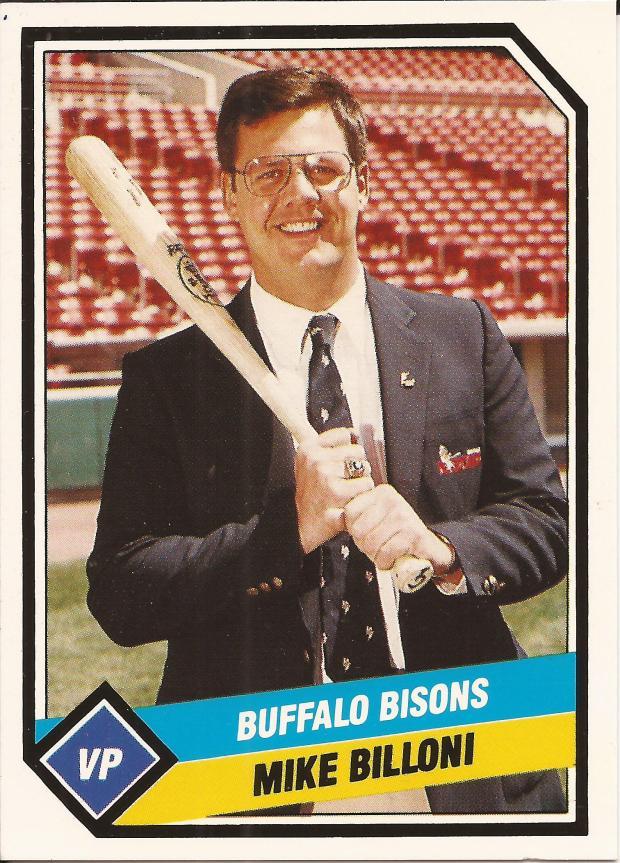 MIKE BILLONI BASEBALL CARD FRONT