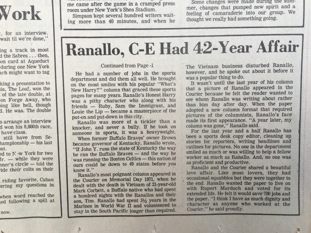 RANALLO CE HAD 42 YEAR CAREER.JPG