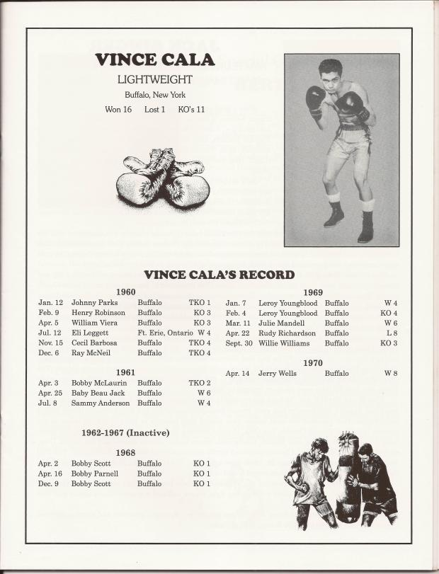 VINCE CALA RING RECORD RING # 44