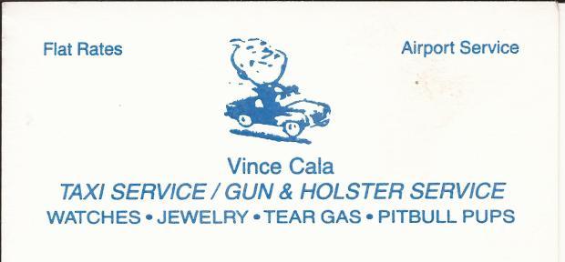 Vince Cala Calling Card